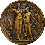 1904 Louisiana Purchase Exposition Bronze Award Medal. Bronze. 64.3 mm. By Adolph Alexander Weinman.