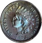 1882 Indian Cent. Proof-67 BN (PCGS).