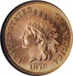 1879 Indian Cent. MS-66 RD (NGC).