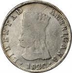 COLOMBIA. Nueva Granada. 8 Reales, 1820/19-JF. PCGS VF-25 Gold Shield.