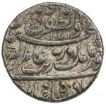 India - Mughal Empire. MUGHAL: Aurangzeb, 1658-1707, AR rupee (11.43g), Aurangabad, AH1071 year 3, K