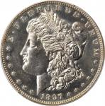1897 Morgan Silver Dollar. Proof-62 (PCGS).