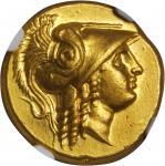 MACEDON. Kingdom of Macedon. Philip III, 323-317 B.C. AV Stater (8.54 gms), Abydus Mint, ca. 323-317