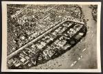 1030-1940年代广州租界-沙面全景的航拍照片,十分少见.