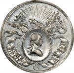 Circa 1858 Philadelphia Civic Procession medal restrike. Musante GW-130-R2, Baker-160F. White Metal.