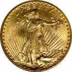 1924 Saint-Gaudens Double Eagle. MS-63 (NGC). CAC. OH.