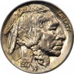 1927-D Buffalo Nickel. MS-65 (PCGS). OGH.