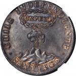 CHILE. Peso, 1817. NGC AU-50.