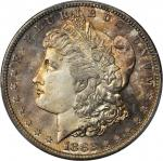 1882-S Morgan Silver Dollar. MS-67+ (PCGS). CAC.