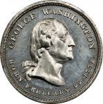 Circa 1860s Washington Tomb medal by Joseph Merriam. Second obverse, Second reverse. Musante GW-320,