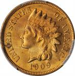 1909-S Indian Cent. MS-65 RD (PCGS).