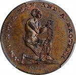 Great Britain--Middlesex. 1795 Advocates for the Rights of Man Farthing Token. D&H-1118, W-8964. Cop