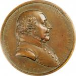 1797 John Adams Indian Peace Medal. The Only Size. Restrike. By Moritz Furst and John Reich. Julian