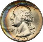 1953 Washington Quarter. MS-67 (PCGS).
