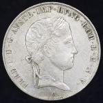AUSTRIA Ferdinand I フェ儿ディナンド1世(1835~48) Taler 1843A VF+