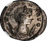 SEVERINA (WIFE OF AURELIAN). BI Antoninianus (3.90 gms), Rome Mint, 1st Officina, A.D. 275. NGC MS,