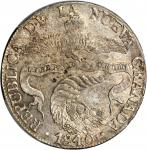 COLOMBIA. 1840-RS 8 Reales. Bogotá mint. Restrepo 194.3. AU-58 (PCGS).