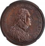 RUSSIA. Copper Ruble Pattern, 1804. Soho (Birmingham) Mint. Alexander I. NGC MS-63 Brown.