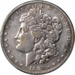 1893-S Morgan Silver Dollar. VF Details--Cleaned (PCGS).