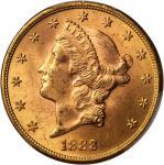 1888-S Liberty Head Double Eagle. MS-63 (PCGS). CAC.