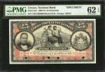 GREECE. National Bank. 25 Drachmai, 1909-18. P-52s. Specimen. PMG Uncirculated 62 EPQ.