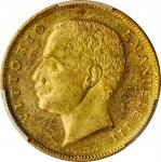 ITALY. 20 Lire, 1905-R. Rome Mint. PCGS MS-63 Gold Shield.