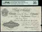 Bank of England, Basil Gage Catterns (1929-1934), 100, Manchester, 13 April 1931, serial number 70/Y