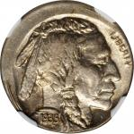 1935 Buffalo Nickel--Struck 10% Off Center--MS-62 (NGC).