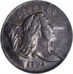 1794 Liberty Cap Half Cent. C-4a. Rarity-3. EF-45 (PCGS). CAC.