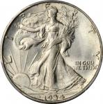 1934-S Walking Liberty Half Dollar. MS-66 (PCGS).