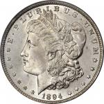1894 Morgan Silver Dollar. MS-65 (PCGS).
