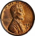 1926-S Lincoln Cent. MS-64 RB (PCGS). CAC.