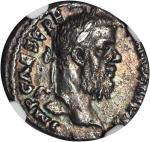 PESCENNIUS NIGER, A.D. 193-194. AR Denarius (2.96 gms), Antioch Mint. NGC EF, Strike: 4/5 Surface: 3