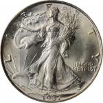1937-S Walking Liberty Half Dollar. MS-64 (PCGS). OGH.
