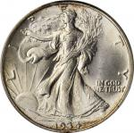 1934 Walking Liberty Half Dollar. MS-65 (PCGS). OGH.