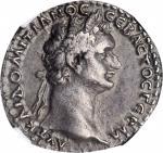 DOMITIAN, A.D. 81-96. Cappadocia, Caesarea. AR Didrachm (7.19 gms), dated RY 13 (A.D. 93/4). NGC EF,