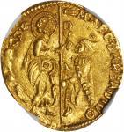 ITALY. Venice. Ducat, ND. Marco Barbarigo (1485-86). NGC MS-64.