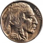 1935-D水牛镍币 PCGS MS 67 1935-D Buffalo Nickel