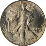 1939 Walking Liberty Half Dollar. MS-64 (PCGS). OGH.