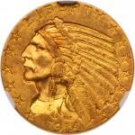 1914 $5 Indian. NGC MS62