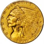 1926 Indian Quarter Eagle. MS-61 (PCGS).