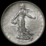 FRANCE 3rd Rep 第三共和政(1870~1940) 2Francs 1912 返品不可 要下见 Sold as is No returns VF