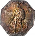 1925 Norse-American Centennial Medal. Silver. Swoger 24Ba-wv3. Thick Planchet. MS-66+ (PCGS). CAC.