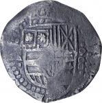 BOLIVIA. 7-1/2 Reales, ND (1651-52)-P O. Potosi Mint. Philip IV. PCGS Genuine--Salt Water Damage, EF