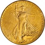 1924-D Saint-Gaudens Double Eagle. MS-62 (NGC).