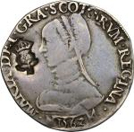 World Coins, Great Britain, Scotland.  Mary (1542-1567), Queen of Scots. Testoon 1562. S.5422. St.18