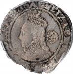 GREAT BRITAIN. 6 Pence, 1580. London Mint. Elizabeth I. PCGS Genuine--Scratch, EF Details.
