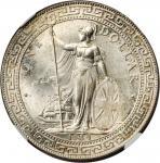 GREAT BRITAIN. Trade Dollar, 1934-B. NGC MS-64.