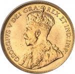 CANADA Georges V (1910-1936). 5 dollars, frappe specimen (SP) 1912, Ottawa.