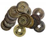 民国初年铜钱10枚一组 美品